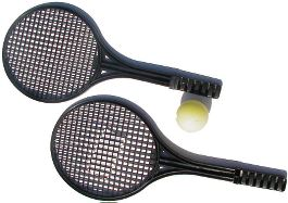 Tennisketcher-plast 2 stk.