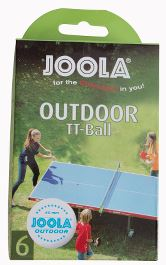 Joola outdoor bordtennisbolde - 6 stk
